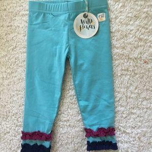 NWOT Wildflowers Clothing Dreaming Leggings 12Y